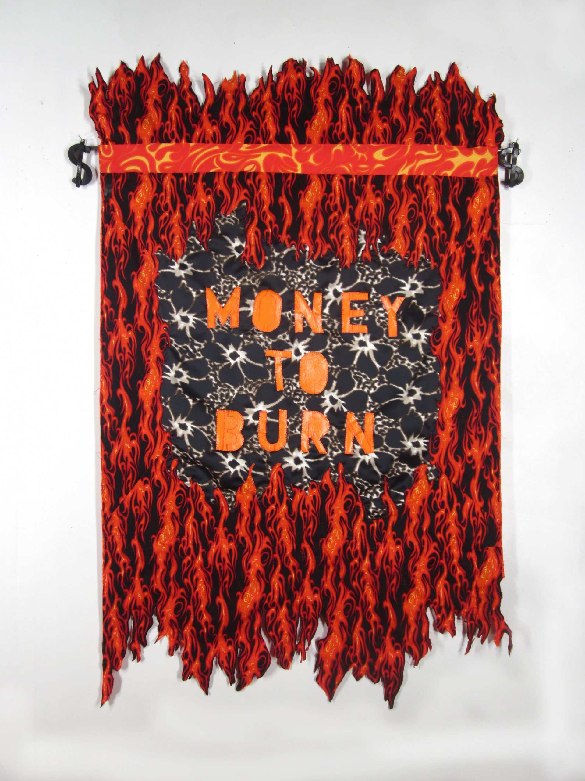 3 Money To Burn - hand sewn fabrics