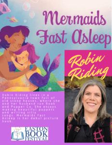 rebecca migdal robin riding mermaids fast asleep easton book festival pa online free virtual