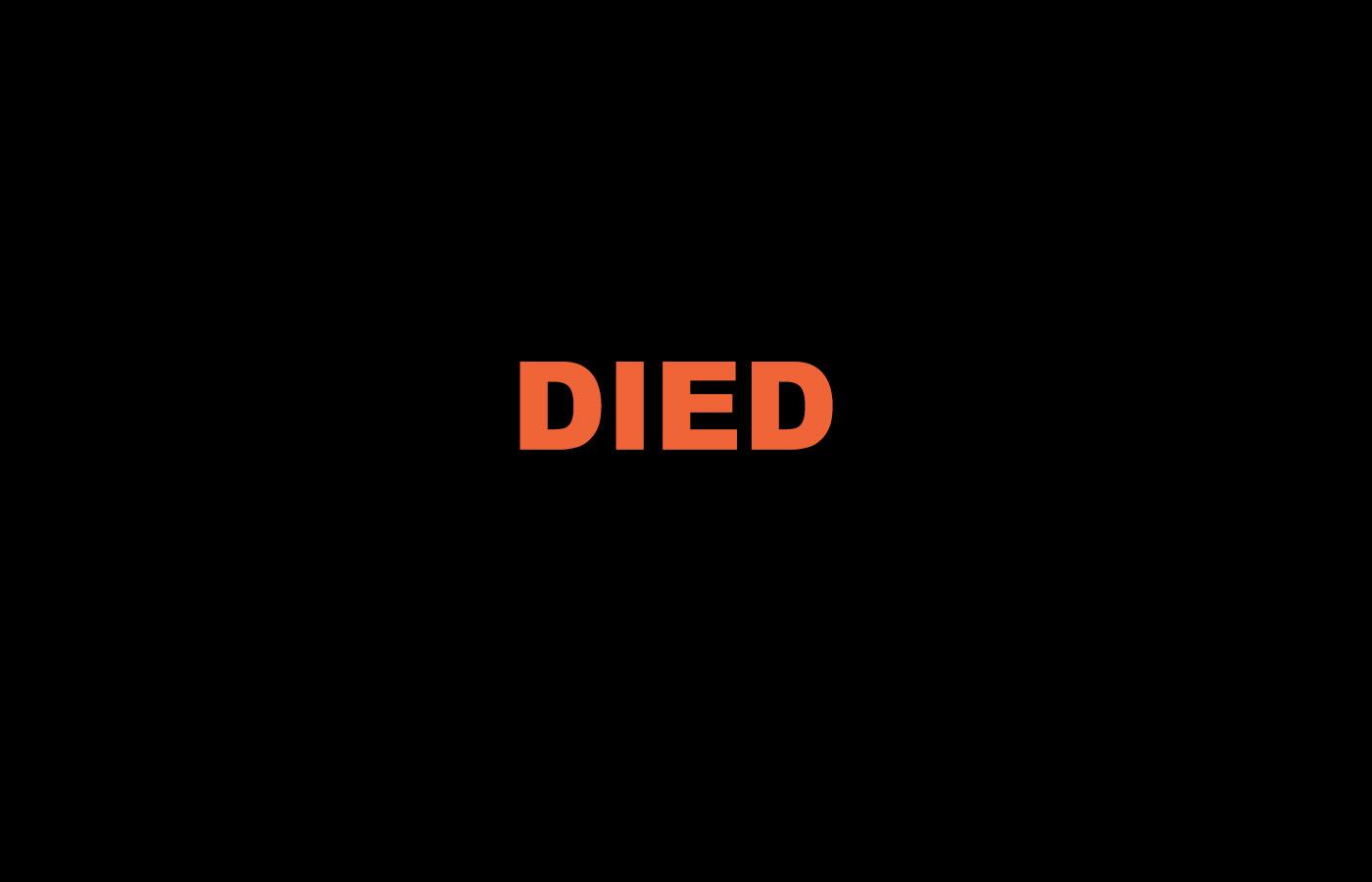 Shalom-Died