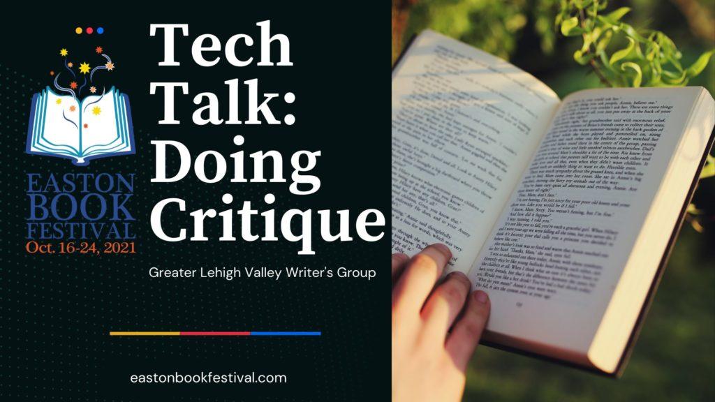 Doing Critique Tech Talk